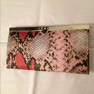 EUC bebe snakeskin wallet